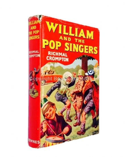 William and the Pop Singers by Richmal Crompton First Edition Newnes 1965